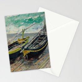 Three Fishing Boats Stationery Cards