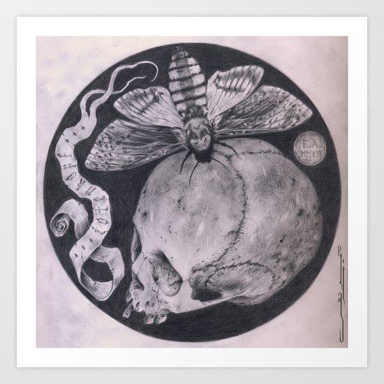 Totenkopf Art Print