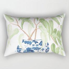 Ginger Jar + Eucalyptus Rectangular Pillow