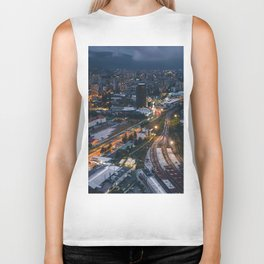 Night City View Biker Tank