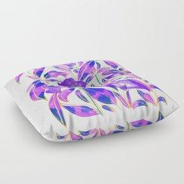 Ultraviolet Nature Floor Pillow