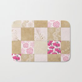 Spring Time - Patchwork Bath Mat