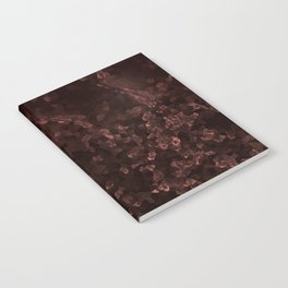 Stone coral - dark Notebook