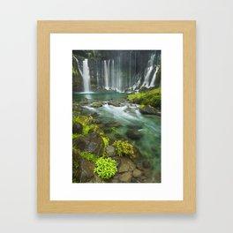 I - Shiraito Falls near Mount Fuji, Japan Framed Art Print