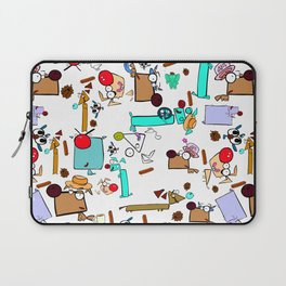"""Dialogue with the Dog - R01 - """"Friends"""" Laptop Sleeve"""