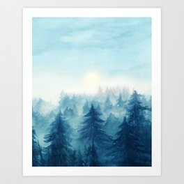 Into The Forest VIII Art Print