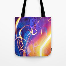 Chaos and Lines - Intro to Lightfight Tote Bag