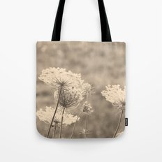 Lace in the Meadow Tote Bag