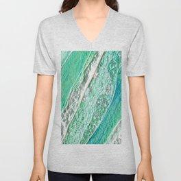 Green Crystal Ⅲ Unisex V-Neck