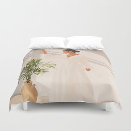 Opened Window Duvet Cover