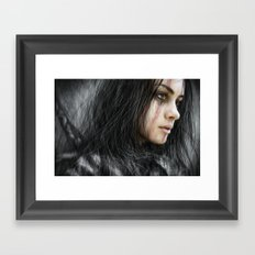 From the Storm Framed Art Print