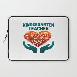 Kindergarten Teacher Laptop Sleeve