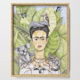 Frida en Australia Serving Tray