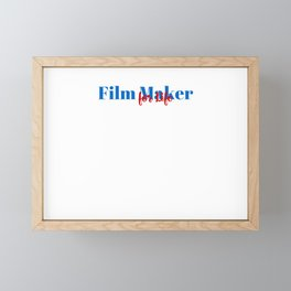 Film Maker Position Framed Mini Art Print