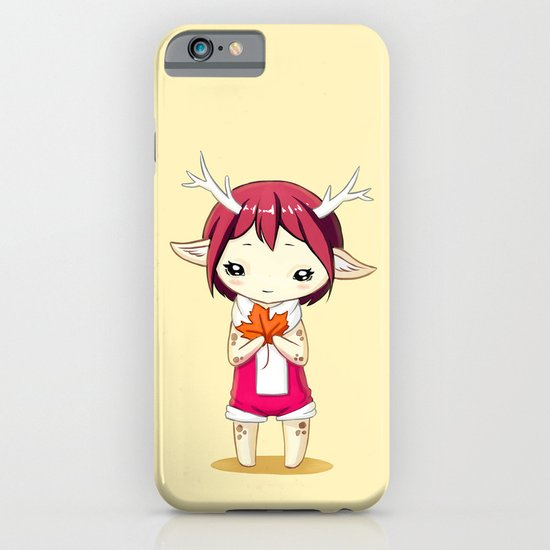 Deer Girl iPhone & iPod Case