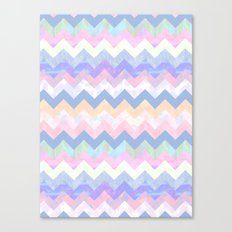 Cloud Chevron Canvas Print
