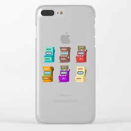 Jackpot Slot Machines Nevada Day Clear iPhone Case
