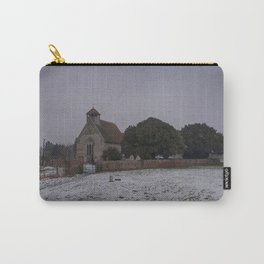 Goodnestone Church In Winter Carry-All Pouch