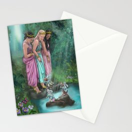 The Three Princesses Stationery Cards