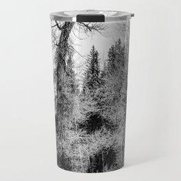 Three Trees BW Travel Mug