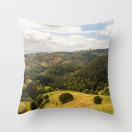 Mountain Views Throw Pillow