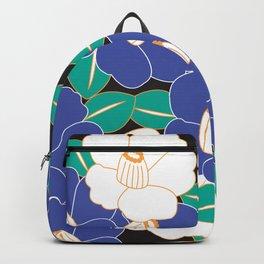 Shades of Tsubaki - Lavender & Black Backpack