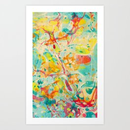 Abstract Painting ; Calliope Art Print