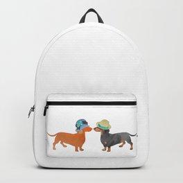 Dachshund love Backpack