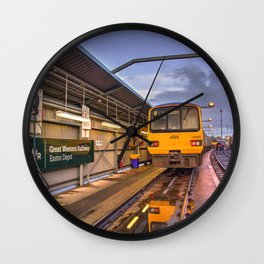 Shed Reflections Wall Clock
