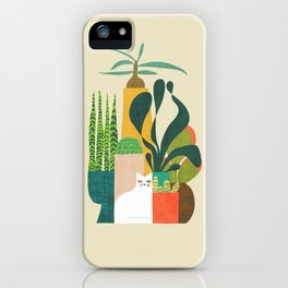 Still life with cat iPhone Case