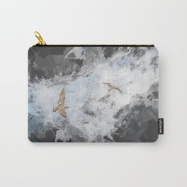 Two seagulls. Carry-All Pouch