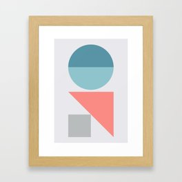 Geometric Form No.3 Framed Art Print