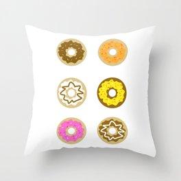 Six Pack Throw Pillow