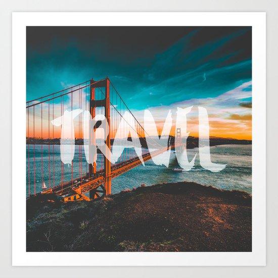 TRAVEL San Francisco Art Print