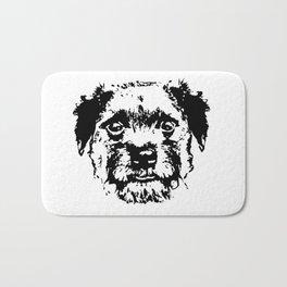 BORDER TERRIER DOG Bath Mat