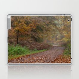 Down the Forest Track Laptop & iPad Skin
