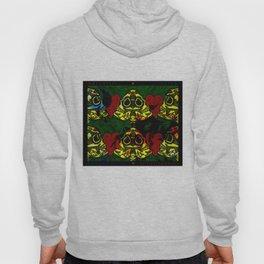 Amo y Besos Symmetrical Art Hoody