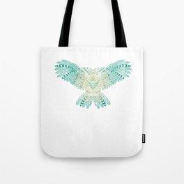 Owl Mandala Style Art Geometrical Abstract Gifts Costume Tote Bag
