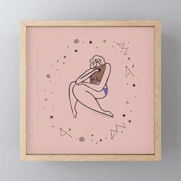 Pink Muse Framed Mini Art Print