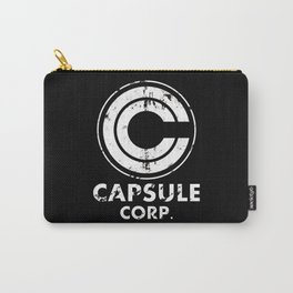 Capsule Corp Vintage white Carry-All Pouch