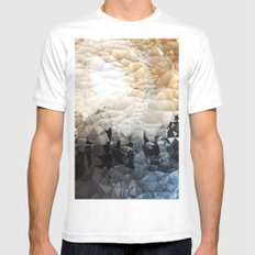 Midnight on the Mountain Mens Fitted Tee White MEDIUM