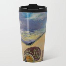 Sunset Guitar Travel Mug