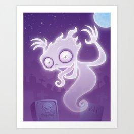 Ghostie Art Print