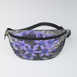 Portuguese Squill Beauty Fanny Pack