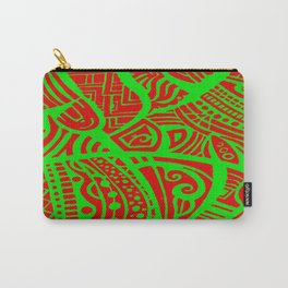 Abstractish 3 Carry-All Pouch