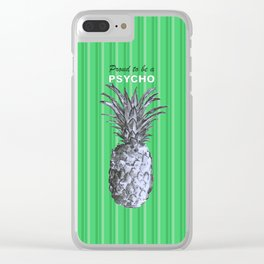 Proud to be a Psycho - by Fanitsa Petrou Clear iPhone Case