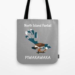 Piwakawaka | Fantail | New Zealand bird Tote Bag