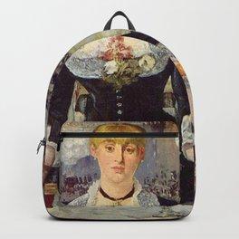 Edouard Manet - Bar w Folies Bergere Backpack