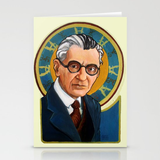 Kurt Gödel Stationery Cards
