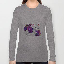 Pauline Panda  Long Sleeve T-shirt